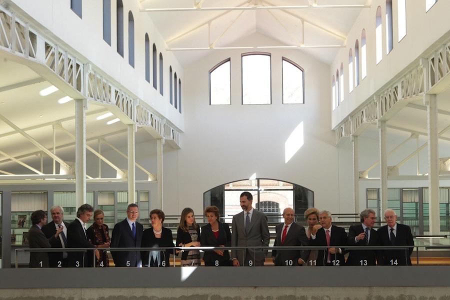 Inauguración de Casa del Lector (Madrid, el Matadero; 17.10.2012)
